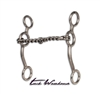 Equisential Performance Long Shank Bit - Twisted Wire Snaffle