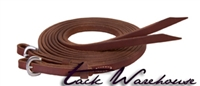 "Stacy Westfall ProTack Oiled Split Reins, 1/2"" x 8'"