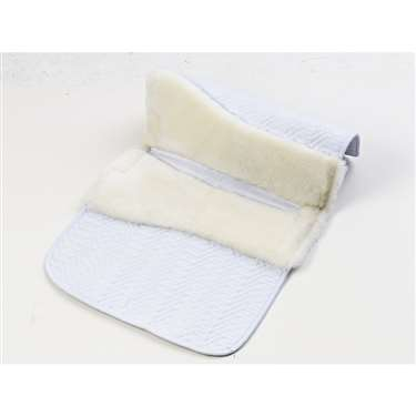 Ovation&reg Europa™ Sheepskin Dressage Pad-4-Shim