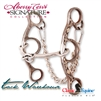 Sherry Cervi Diamond Short Shank O snaffle Horse Bit. This is a bit for starting barrel training, or on horses that have sensitive mouth that do not need much bit. It is nice and soft, offering complete rate and body lift for turns. Tack Warehouse