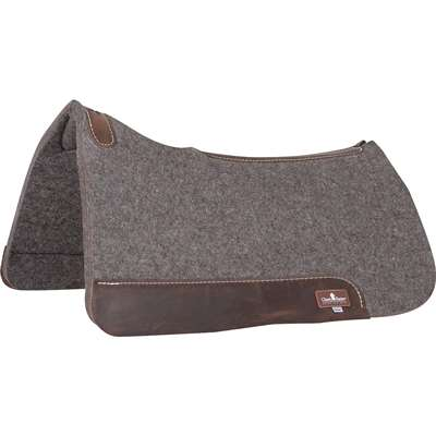 Classic Equine 100% Wool Felt Saddle Pad - Fit to Your Horse