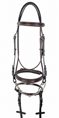Nunn Finer Galway Bridle with Flash