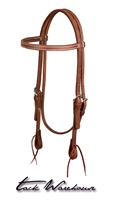 ProTack® Oiled Browband Headstall, 5/8""