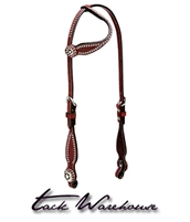 Texas Star Flat Sliding Ear Headstall