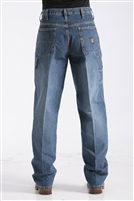 Cinch Men's Blue Label Medium Stone Jeans