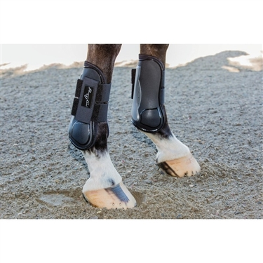 Pro Performance by Professional's Choice Universal Black As Open Front Tendon