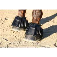 Professional's Choice Medium Black Bell Boot Rubber Open