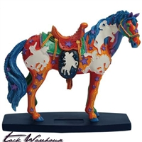 Technicolor Dream Horse Figurine