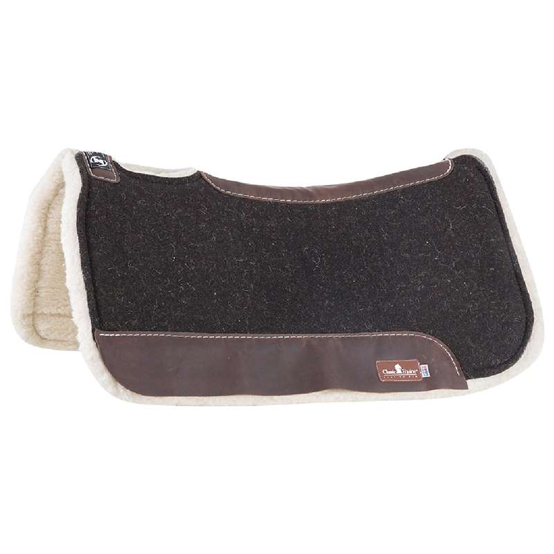 Zone Felt Fleece Saddle Pad