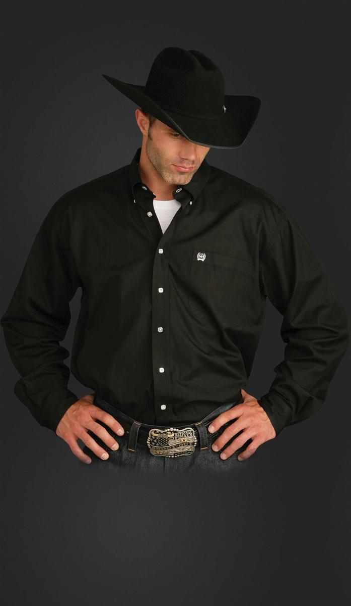 76ecfefe760 Cinch Western Shirts - Solid Buttondown Classic Cinch Western Shirts ...
