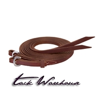 "Stacy Westfall ProTack Oiled Split Reins, 5/8"" x 8'"