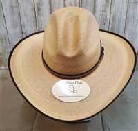 Palm leaf cowboy hats