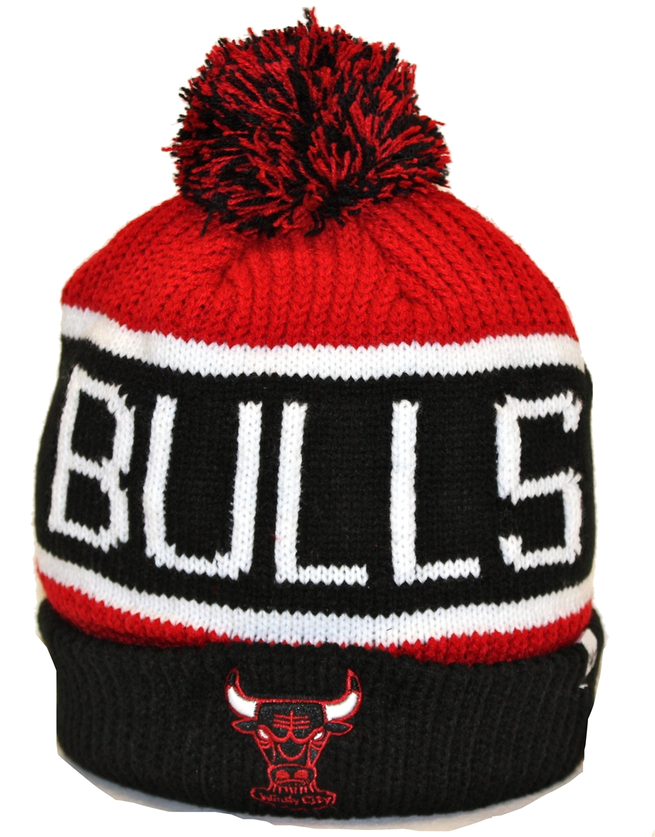 a260f54d The 47 Brand Calgary Chicago Bulls Black Red White Beanie