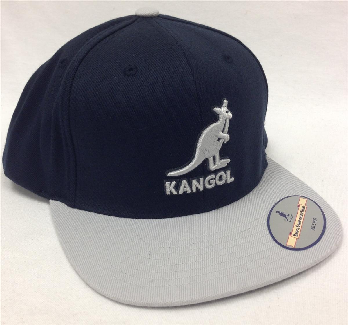 Kangol Championship Links Navy   Gray Snapback e3fedcb0274d