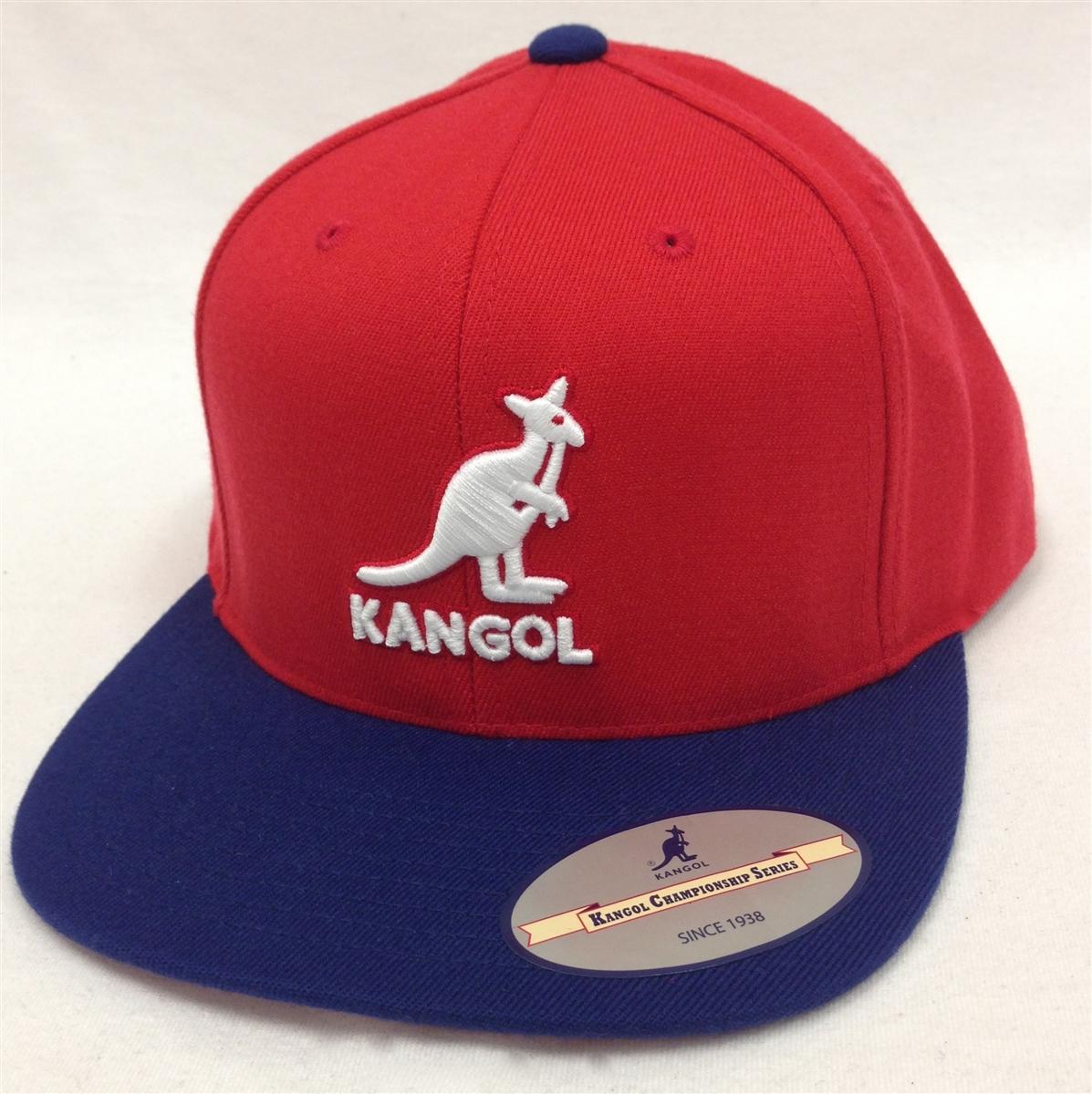 Kangol Championship Links Red   Blue Snapback 4cfe4ad1dae5