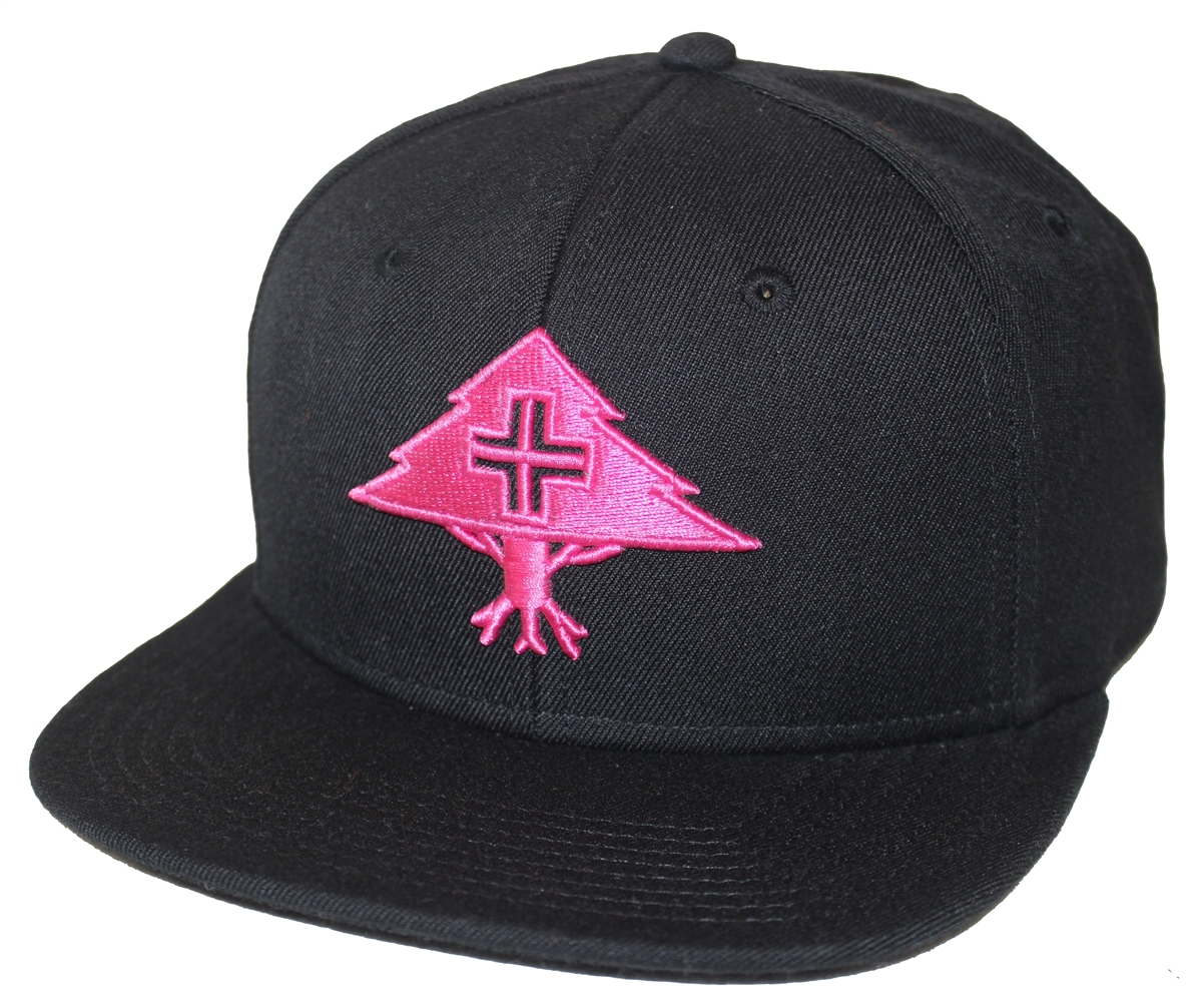 4871bdf67fa LRG Lifted Research Group Floressence Black Snapback