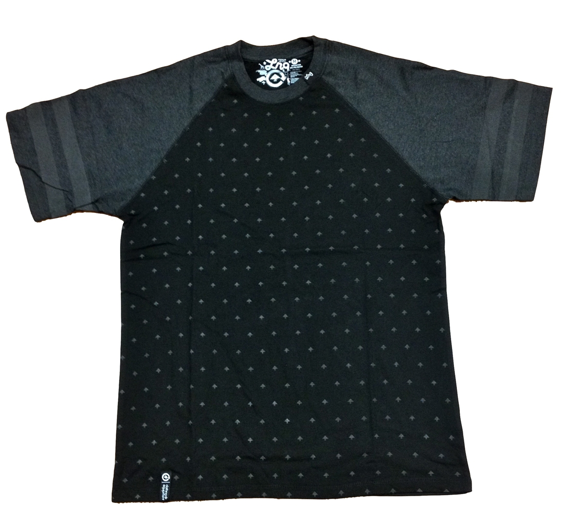 c61f17462aa2d LRG Lifted Research Group Reflective Tee Shirt Black   Charcoal