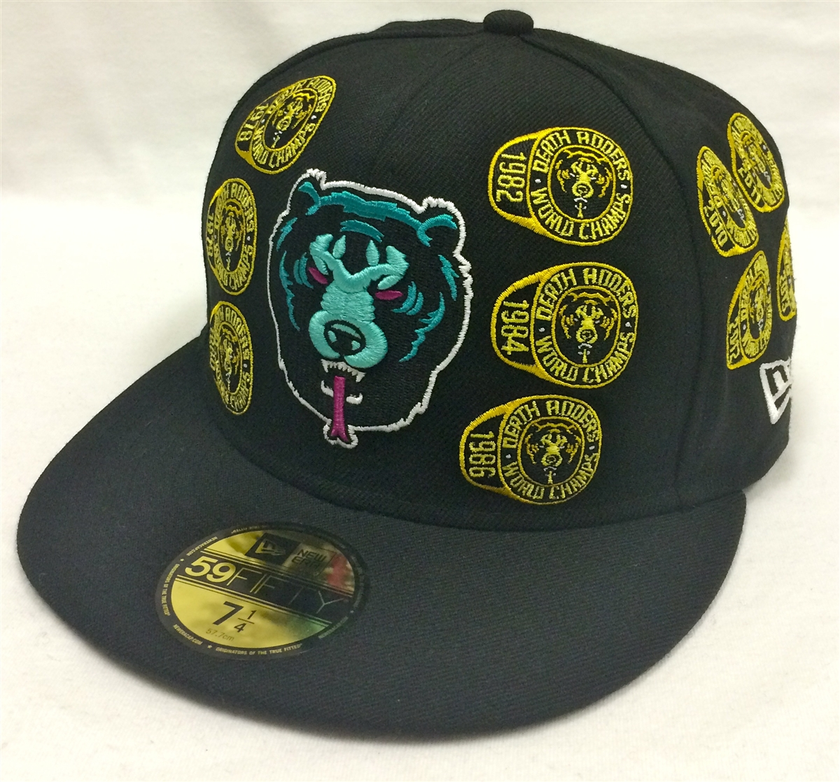 a19340f062f ... promo code for new era 59fifty mishka death adders dynasty black fitted  cap c4d52 43e9a