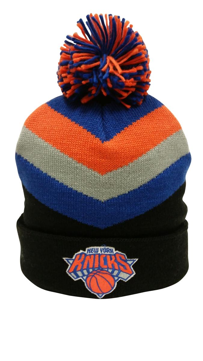 83c39c5be Mitchell & Ness Chunky Knit New York Knicks Pom