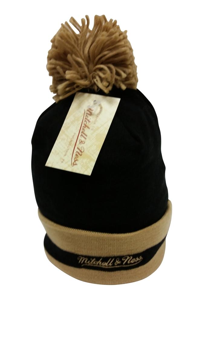 5384800d3 Mitchell & Ness Chunky Knit New Orleans Saints Pom