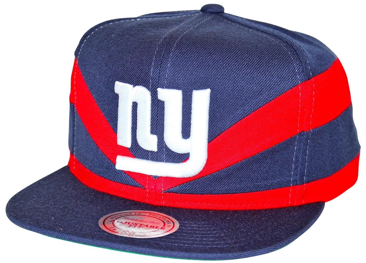 f958ffae3 Mitchell & Ness Slash Cut & Sew New York Giants Navy Snapback
