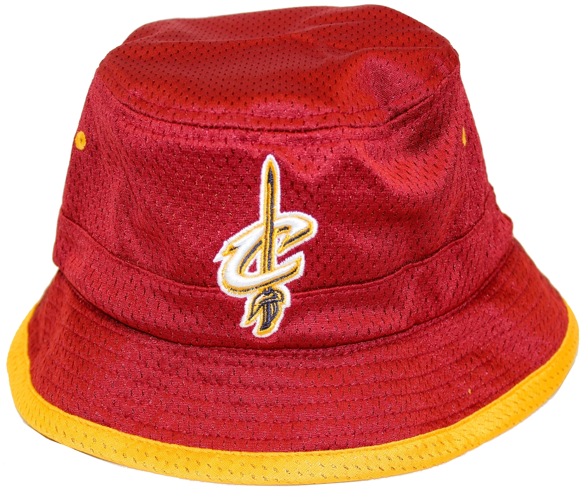 Mitchell   Ness Then And Now Cleveland Cavaliers Bucket Hat ba9589e24eb