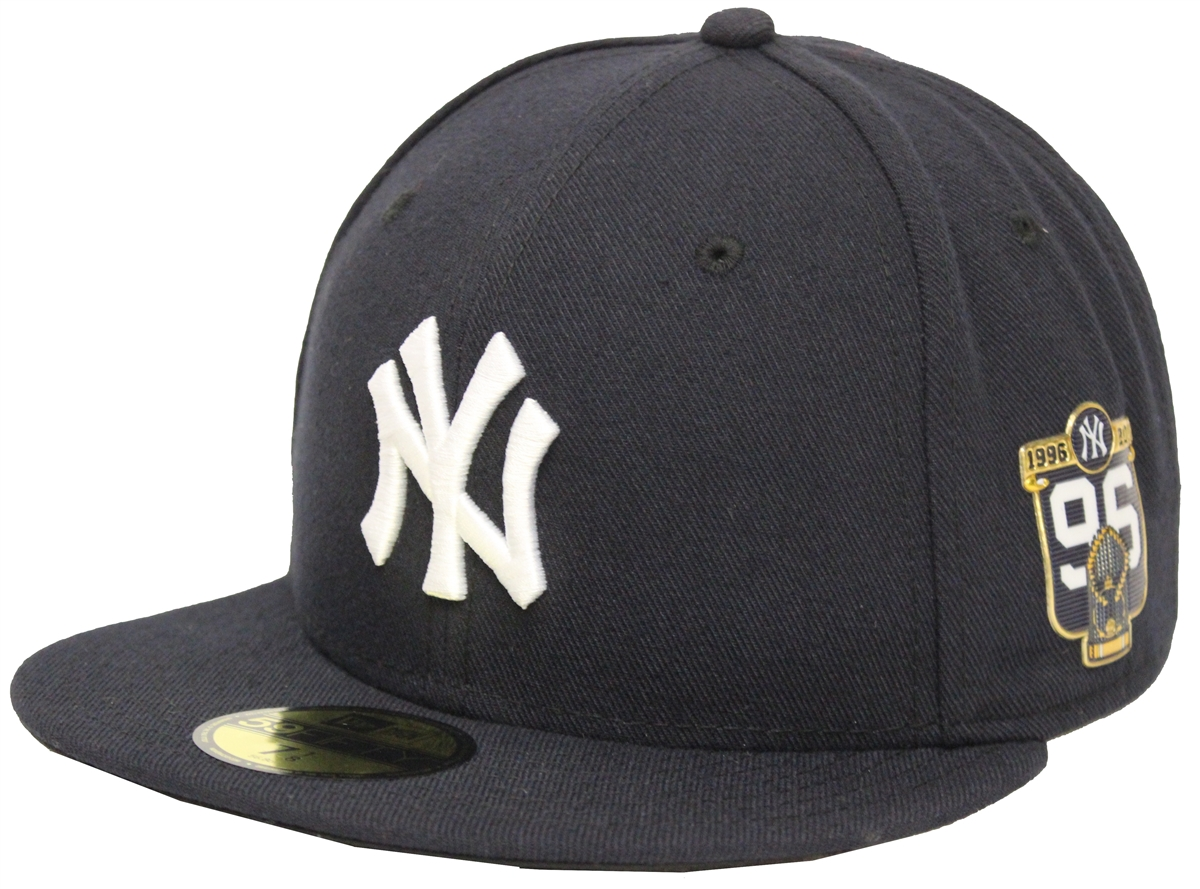 a71d25caa8b ... top quality new era 59fifty 20th anniversary new york yankees navy  fitted cap 5ba58 c8196