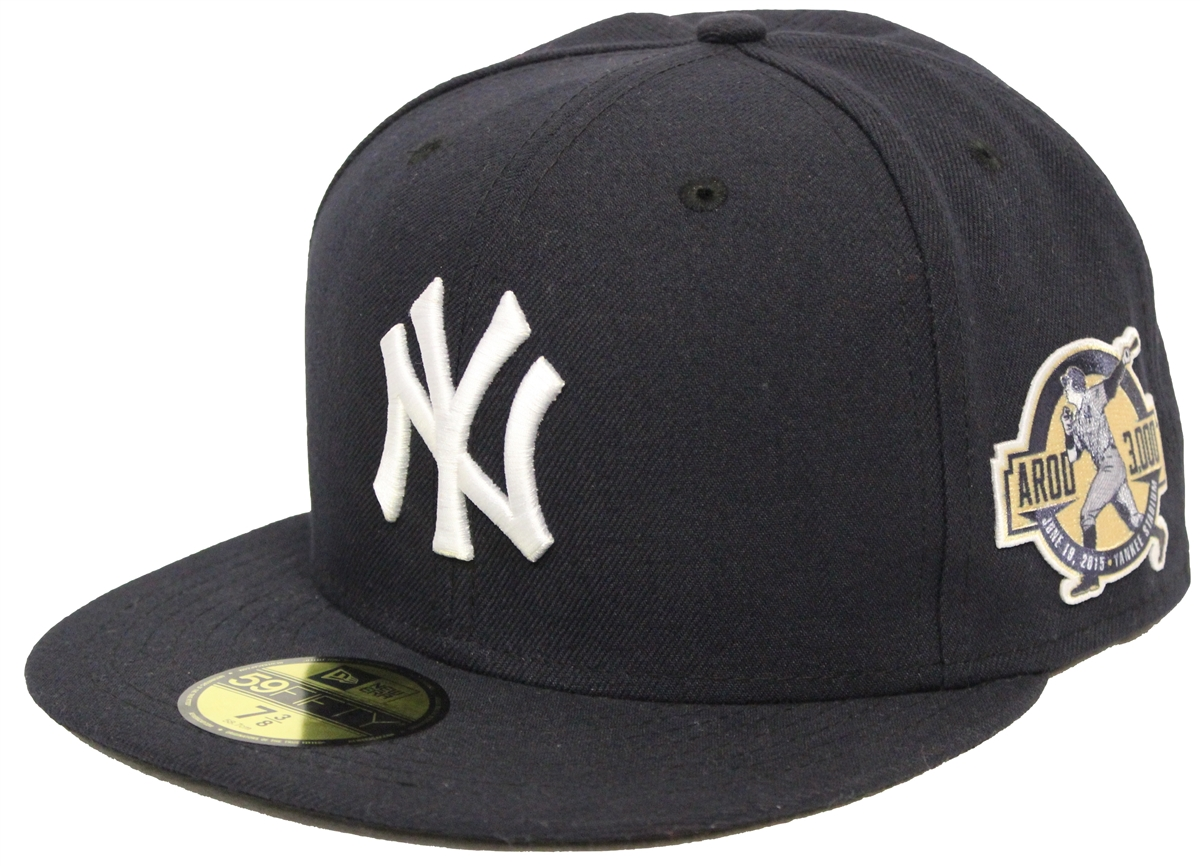 c23ddeda7d385 New Era 59Fifty AROD 3000 New York Yankees Navy Fitted Cap