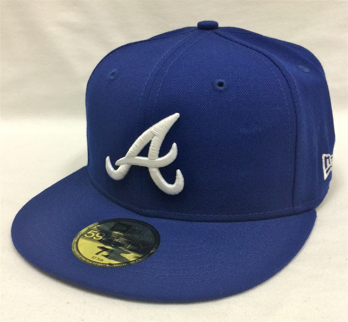 New Era 59Fifty MLB Basic Atlanta Braves Blue Fitted Cap