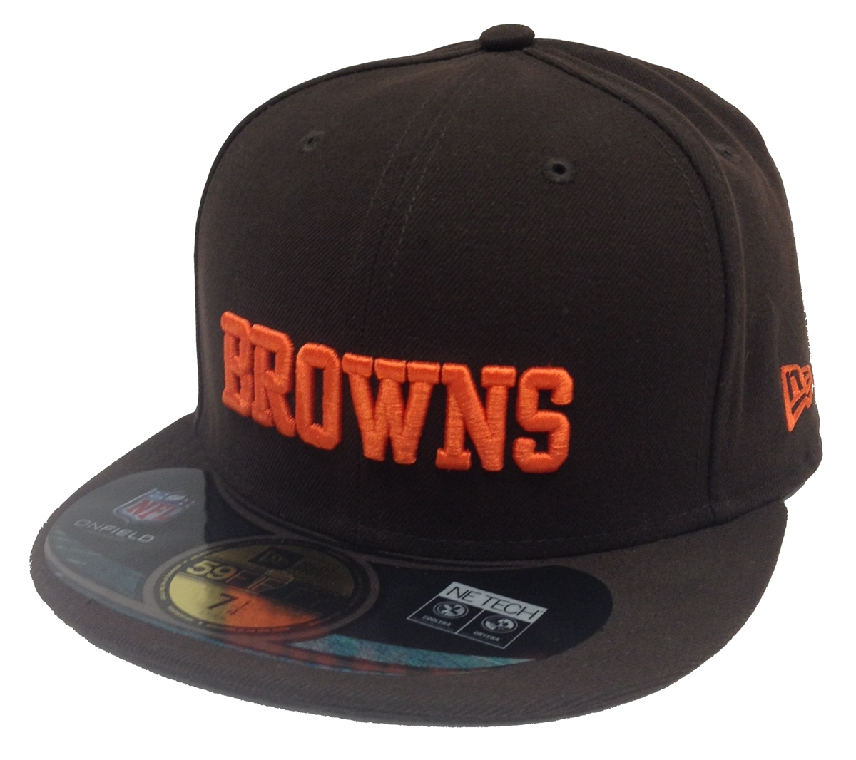 0fe41a070 New Era League Basic Cleveland Browns Brown Fitted Cap