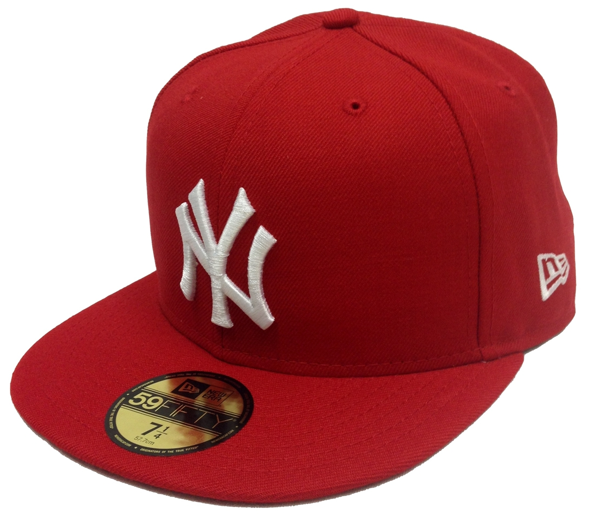 8d7e8a5d6ba New Era 59Fifty MLB Basic New York Yankees Red Fitted Cap