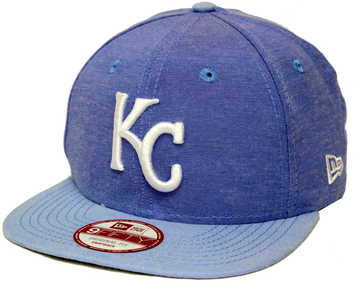 85e86bb543e New Era 9Fifty Cham Basic Redux Kansas City Royals Denim Blue ...
