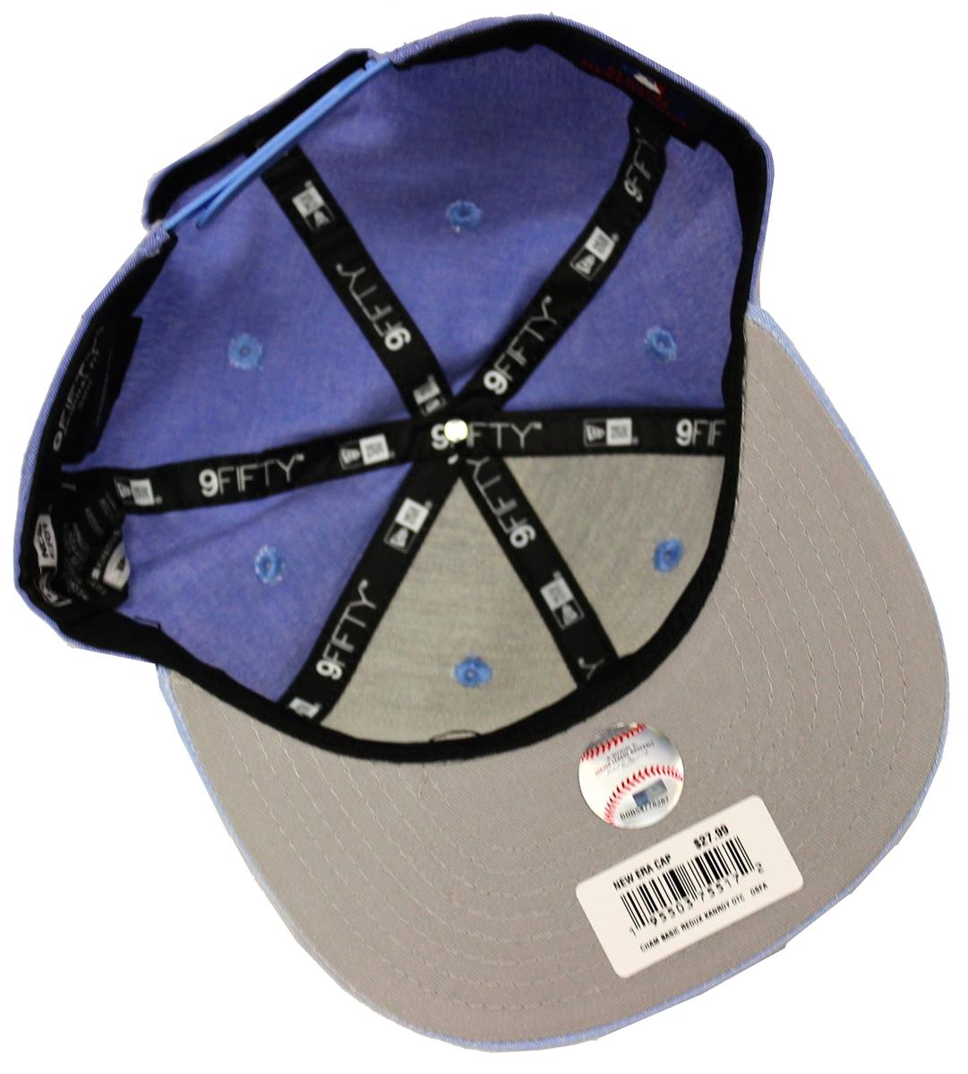 d003d2997c9 New Era 9Fifty Cham Basic Redux Kansas City Royals Denim Blue Snapback