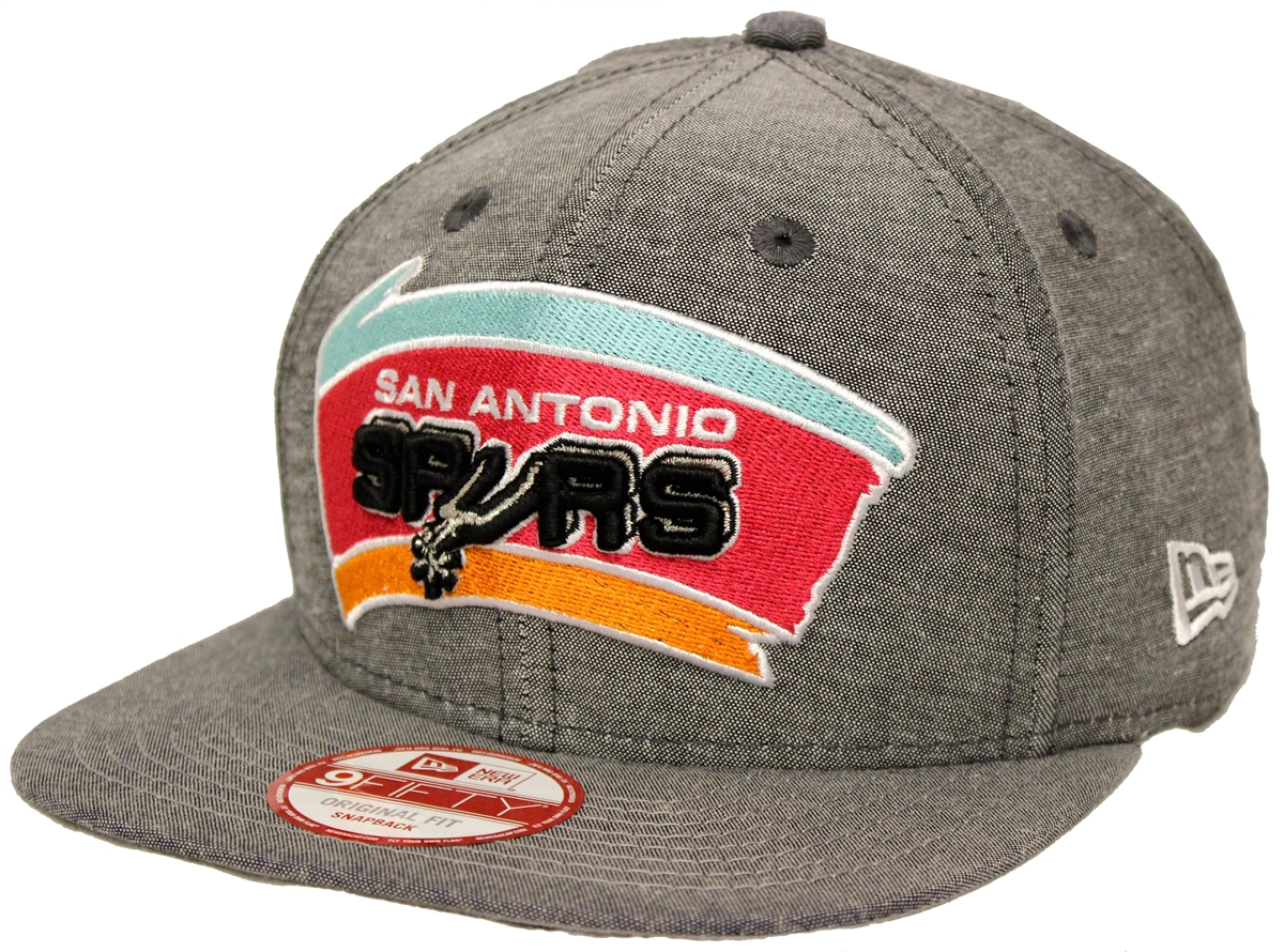 480710422d7 New Era 9Fifty Cham Basic Redux San Antonio Spurs Denim Gray ...
