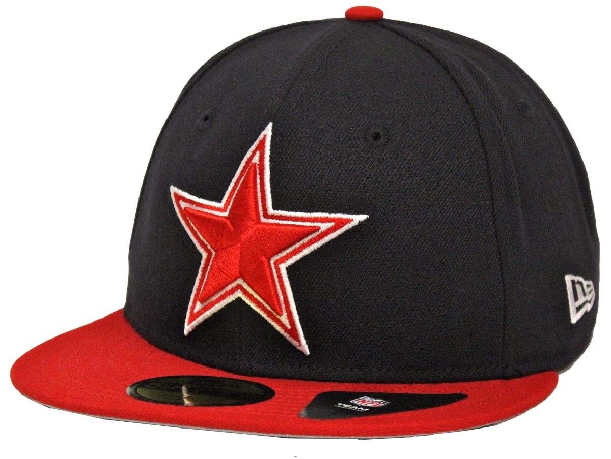5dc9ffe3 ... low price new era 59fifty country colors dallas cowboys navy red fitted  cap a2b38 b5404