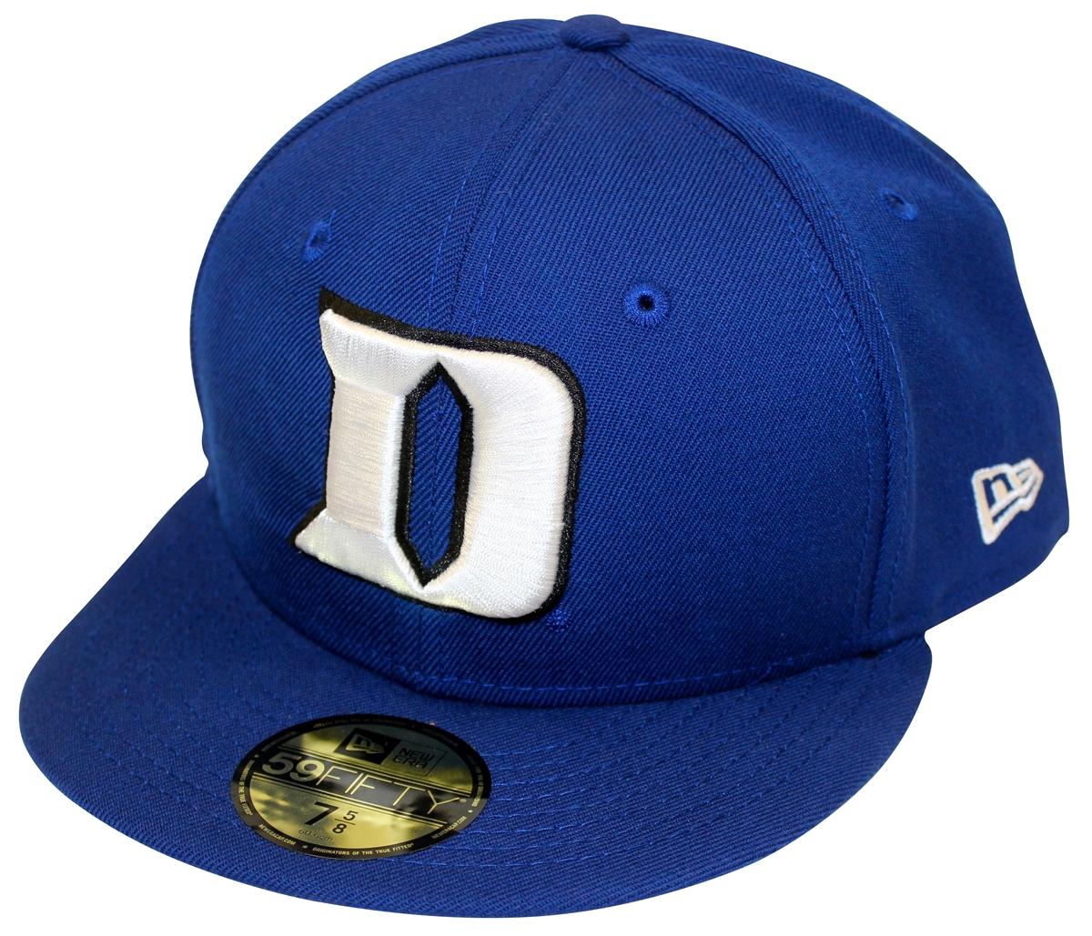 New Era Duke Blue Devils Fitted Cap Hat f2ad3c9b02c