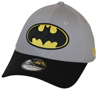 66c1fe1f757 New Era 39Thirty DYAD Batman Gray Black Flexfit