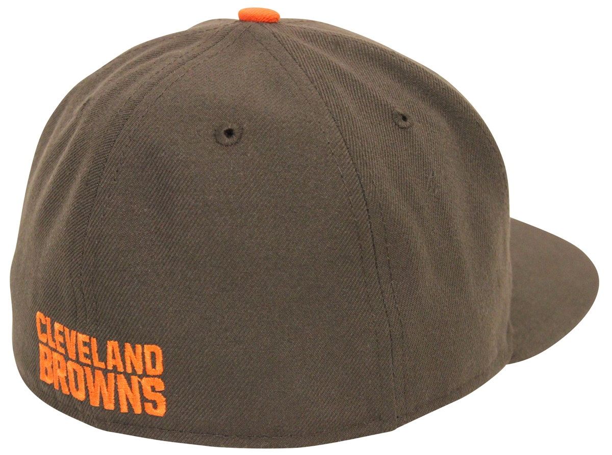 b50c73e5 New Era 59Fifty Pop Flip Cleveland Browns Brown Fitted