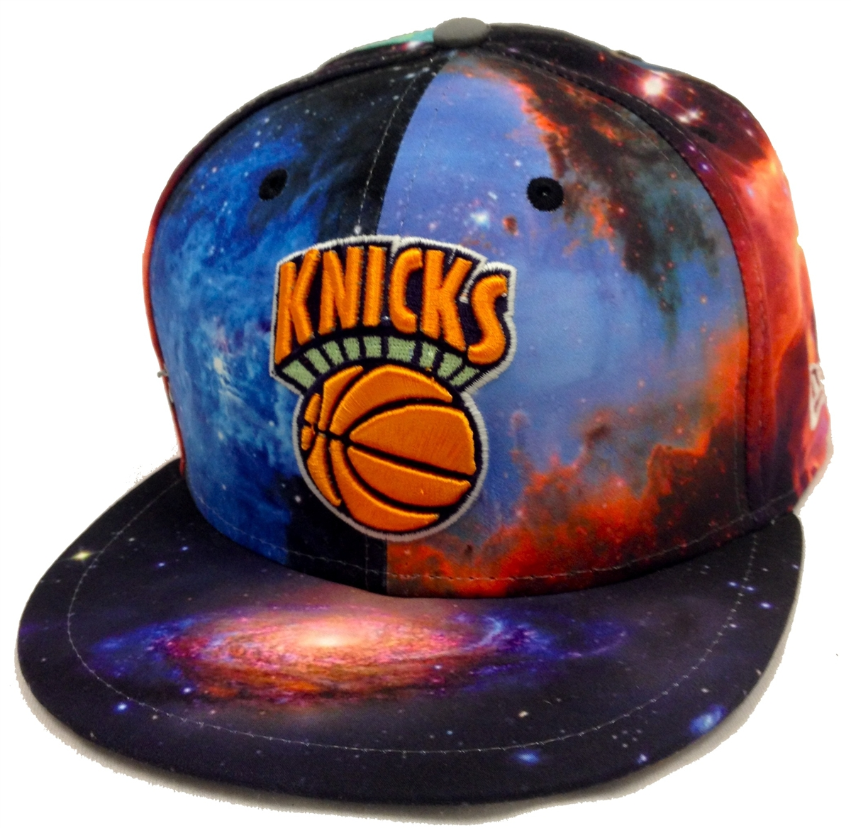 New Era 59Fifty Galaxy New York Knicks Fitted Cap 5575776f85e