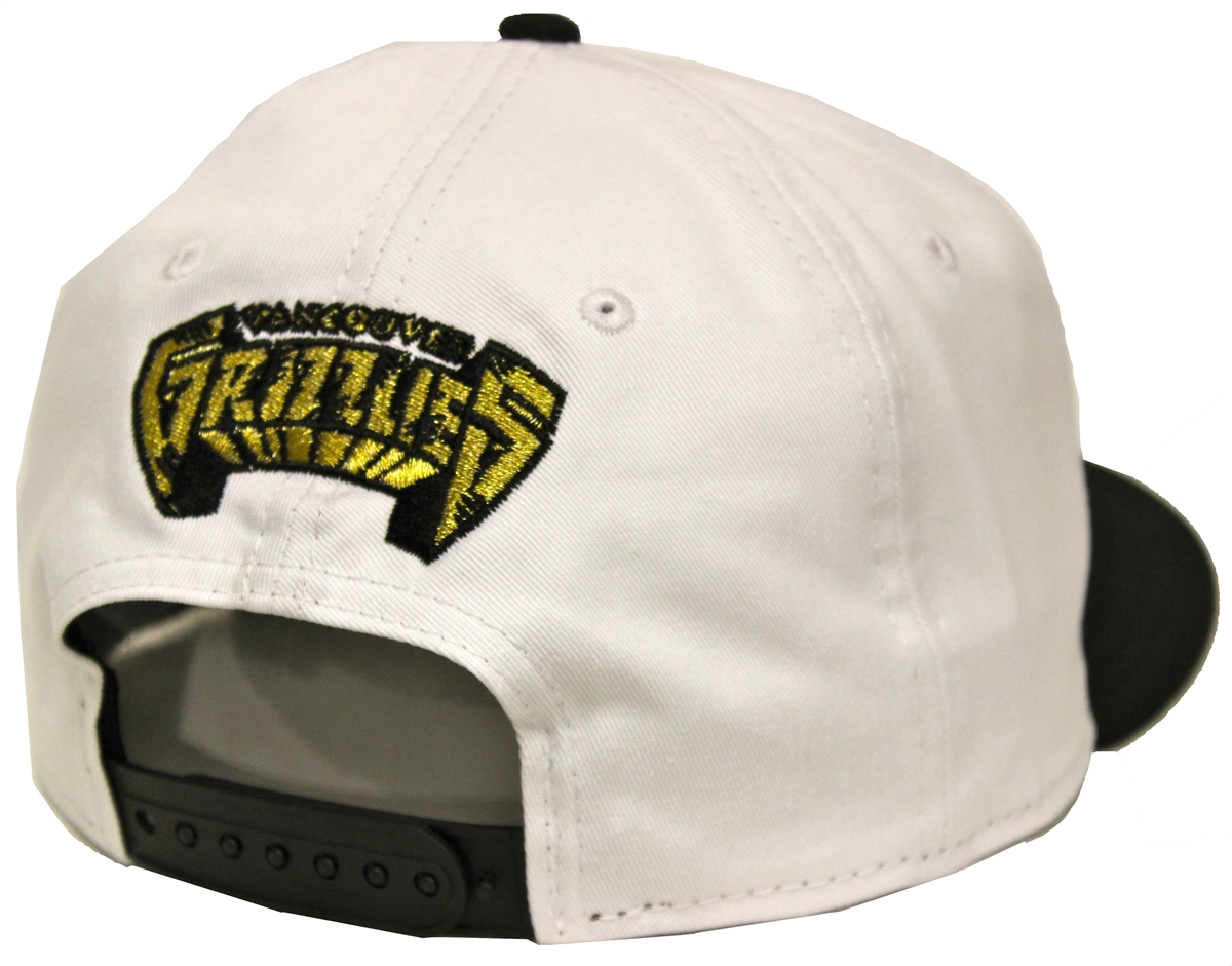 New Era 9Fifty Olympic Vancouver Grizzlies White Black Snapback T4H Custom 8a10ab1391ce