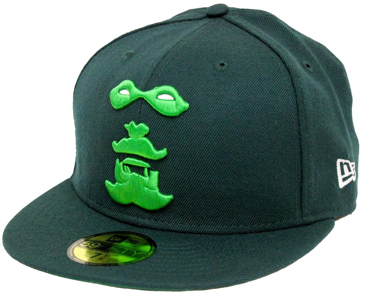 New Era 59Fifty Green Arrow Green Fitted Cap T4H Custom bcda24b6352