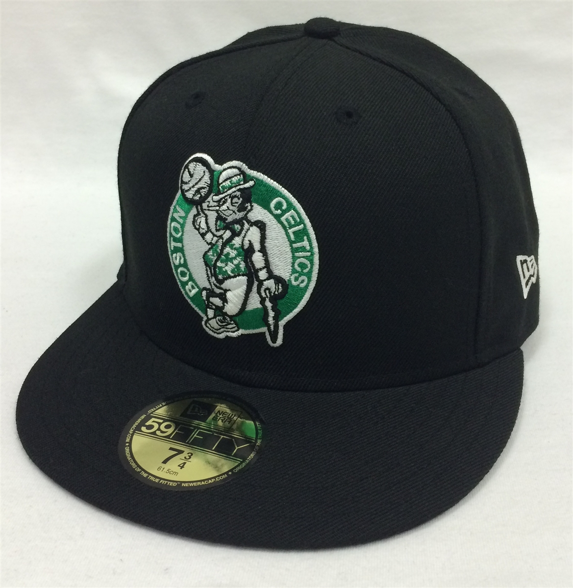 New Era 59Fifty HWC Basic Boston Celtics Black Fitted Cap b3048ee8405