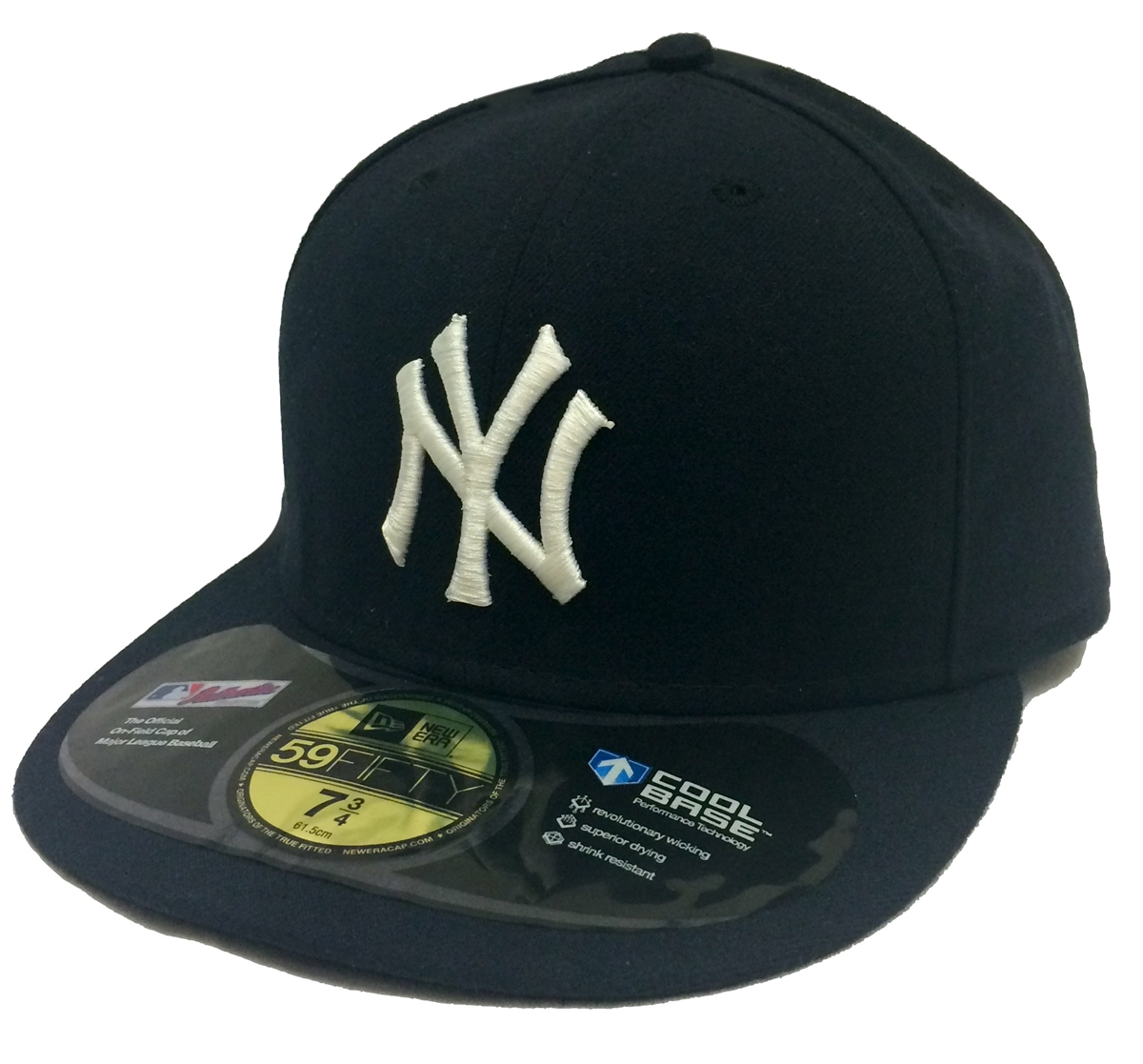52adf2fe499 ... purchase new era 59fifty mlb on field inaugural season 2009 new york  yankees navy fitted cap ...