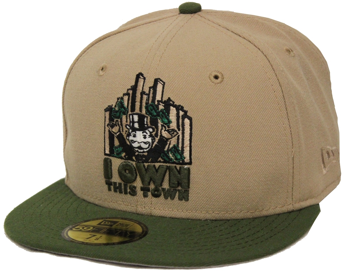 5a193daf88c1c ... green adjustable a240a 8172c get new era 59fifty monopoly i own this  town beige olive fitted cap t4h custom b9c4b ...