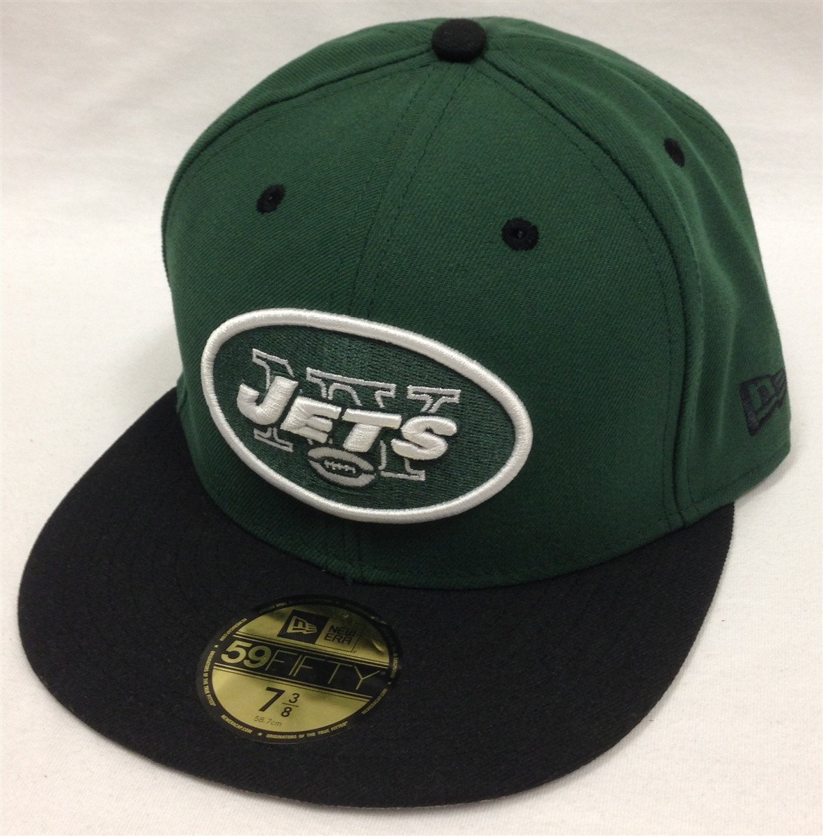 New Era 59Fifty 2Tone New York Jets Green   Black Fitted Cap 8c466569ee18