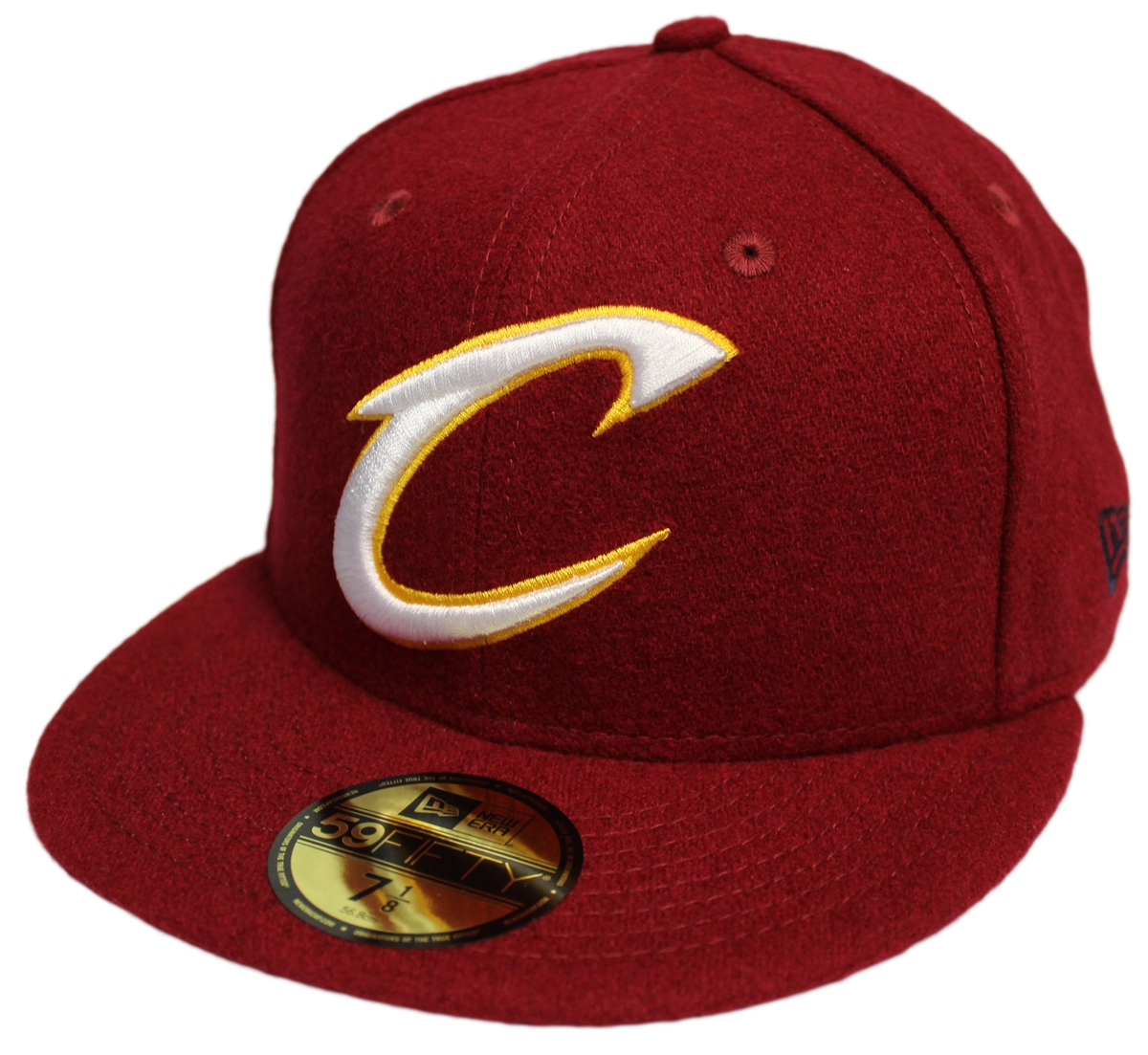 New Era 59Fifty Team Mandatory Cleveland Cavaliers Fitted Hat Cap ... 5e7125160119