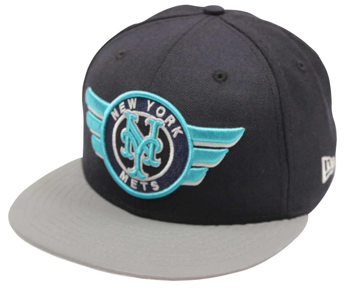 New Era 59Fifty Midnight Navy New York Mets Fitted Cap T4H CUSTOM bd098c547