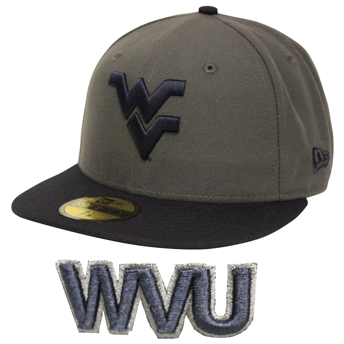 deac2fb65977a New Era 59Fifty West Virginia Mountaineers WVU Fitted Cap