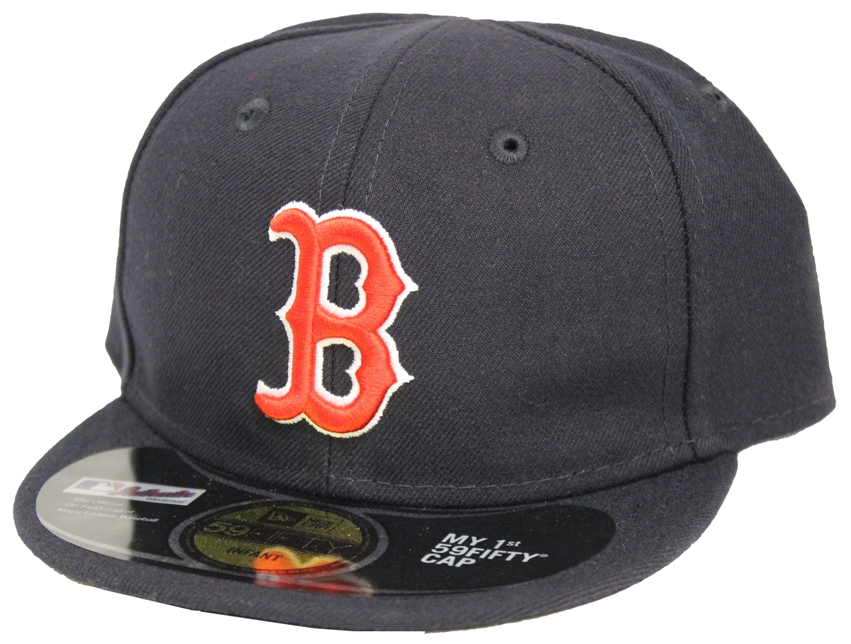 New Era 59Fifty Boston Red Sox My 1st Fitted Cap Navy f793a444085