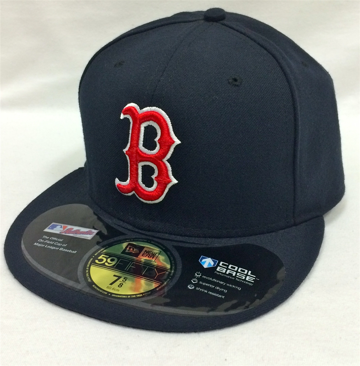 6e979812e1e825 New Era 59Fifty On-Field Boston Red Sox Navy Fitted Cap